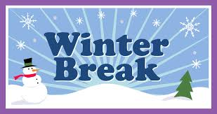 Winter Break - December 23-January 3