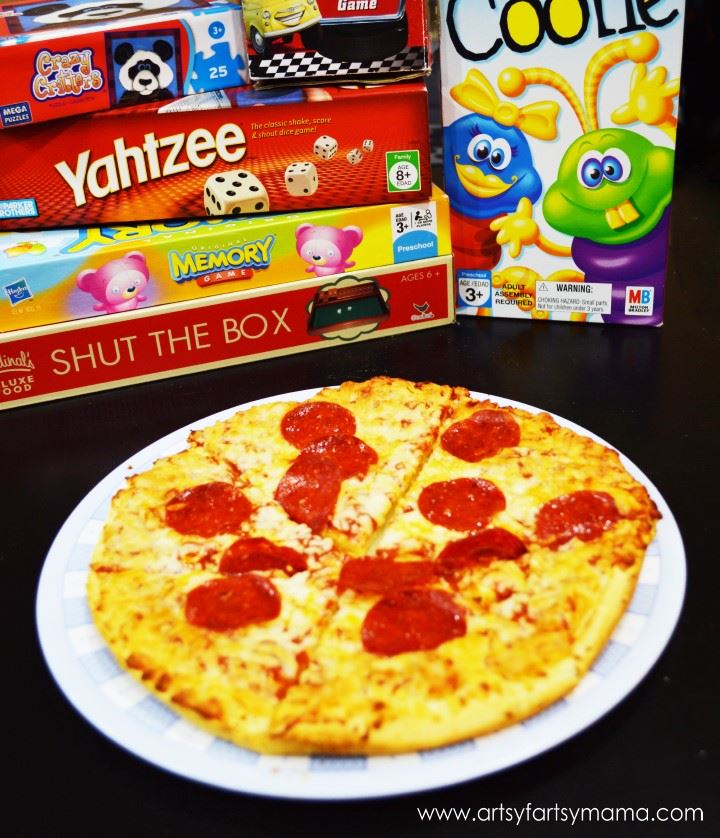 Pizza and Games