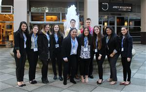 2018 BHS DECA State Conference Group