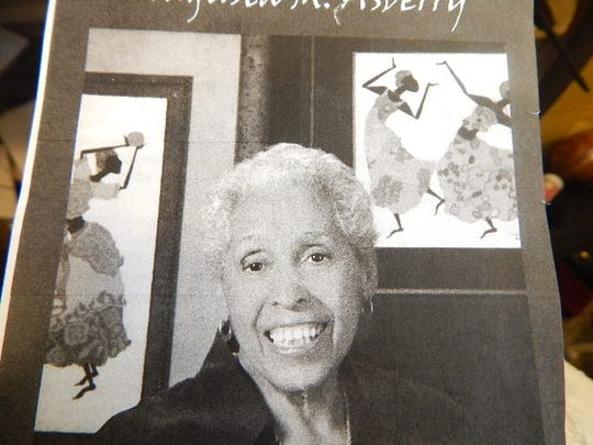 Kitsap Sun / Black History Month Profile:  Augusta Asberry (whose art hangs at Crownhill Elementary and Bremerton High School)