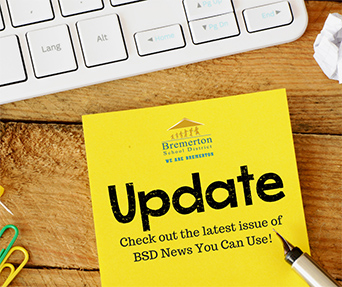 District News You Can Use:  BSD Family & Community E-Newsletter