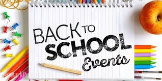 Individual Back to School Events