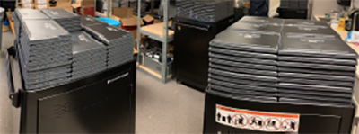 Kitsap Sun / Districts distribute thousands of Chromebooks to students as digital learning gets underway