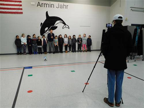 Josh Farley films the Bremerton Beat Blast at Armin Jahr