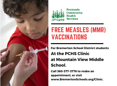 Free MMR Vaccinations