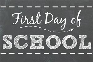 First Day of School 8/29