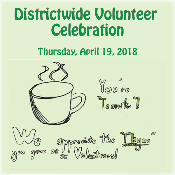 Districtwide Volunteer Celebration