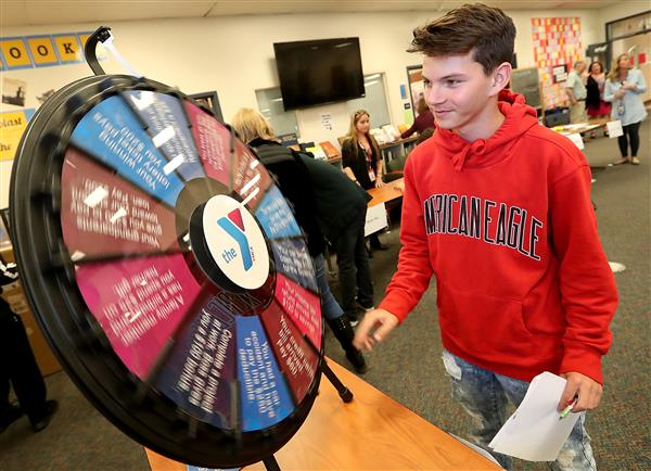 Kitsap Sun:  Bremerton students get a 'reality' check at career fair