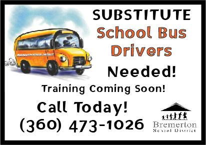Substitute Bus Drives Needed