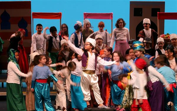 View Ridge Elementary Arts Academy's Aladdin featured in Kitsap Sun
