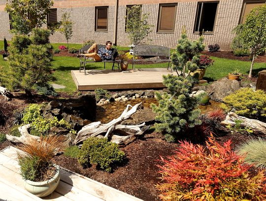 The Garden of Readin':  Bremerton High's garden is a space for respite, instruction