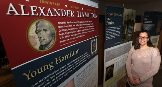 (Kitsap Sun) Bringing history to the forefront:  Traveling exhibit builds on 'Hamilton' excitement