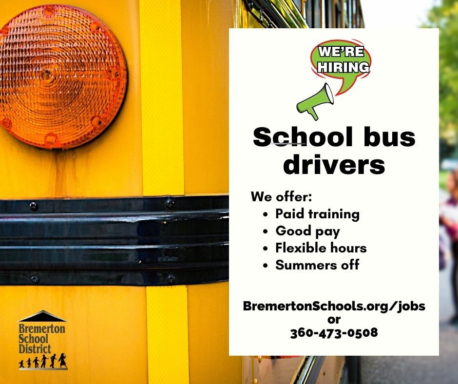 Now hiring bus drivers (graphic)