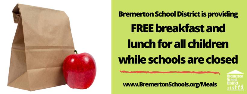 Free meals during school closure