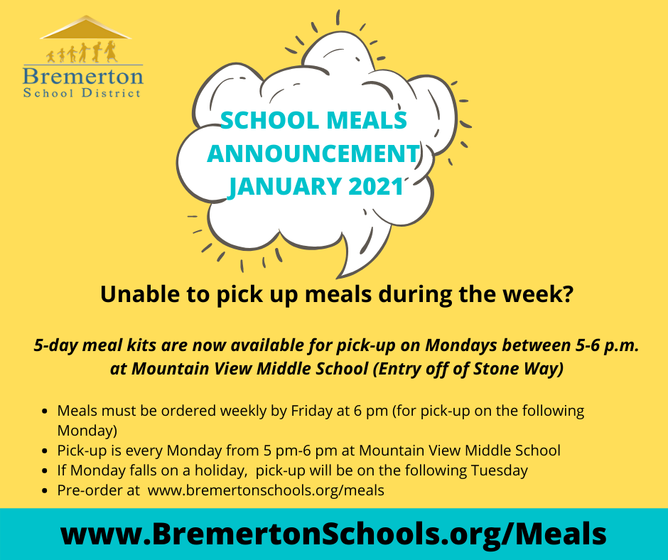 5-day meal kits now available
