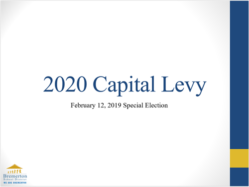 2020 Capital Levy community presentation