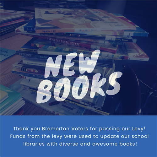 New Books - Thank You Bremerton Voters